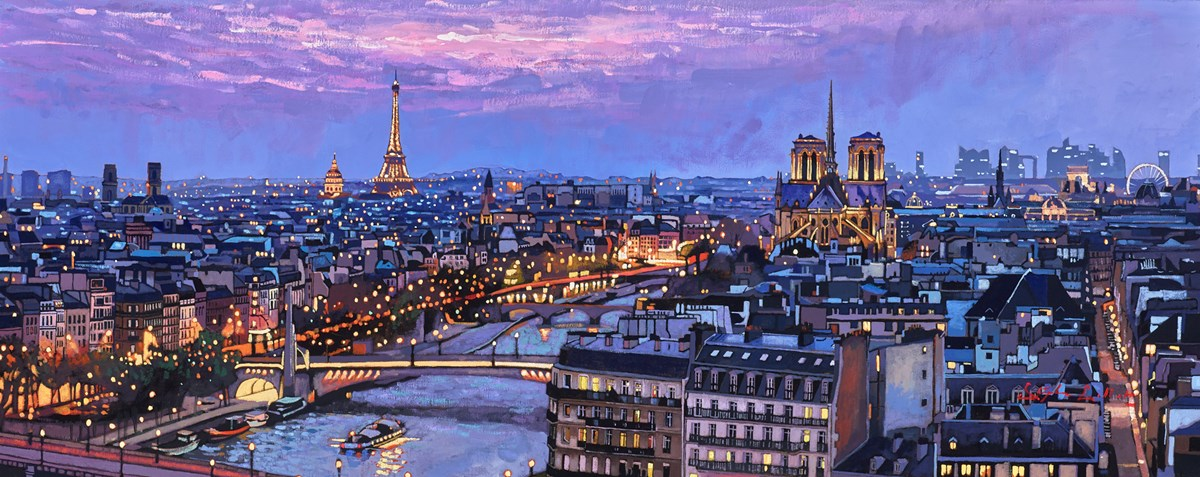 Paris Blue Hour II